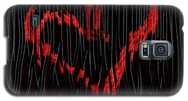 Galaxy S5 Case featuring the digital art Top Secret... by Tim Fillingim