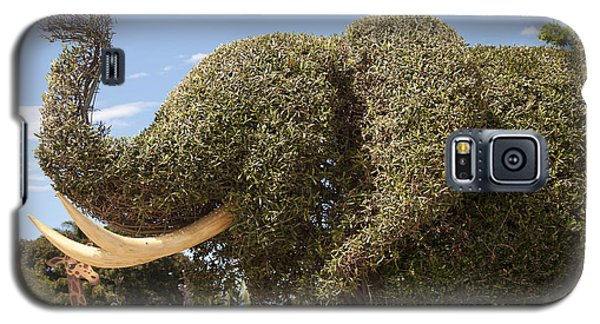 Topiary Elephant Galaxy S5 Case