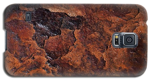Topography Of Rust Galaxy S5 Case