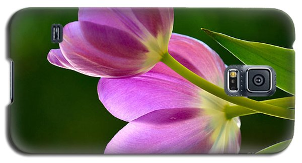 Topsy-turvy Tulips Galaxy S5 Case