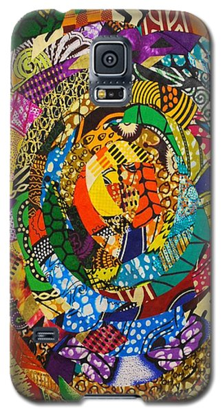 Galaxy S5 Case featuring the tapestry - textile Tor by Apanaki Temitayo M