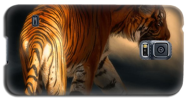 Galaxy S5 Case featuring the digital art Torch Tiger 3 by Aaron Blaise