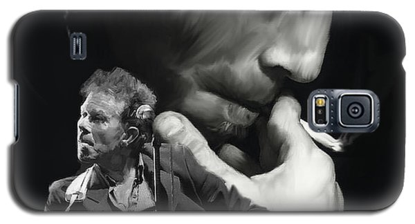 Torn Pages Tom Waits  Galaxy S5 Case by Iconic Images Art Gallery David Pucciarelli