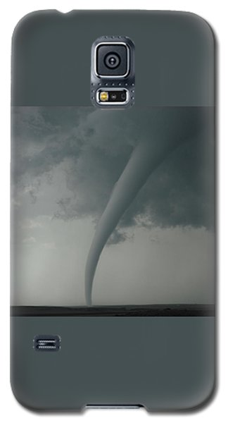 Galaxy S5 Case featuring the photograph Tornado Country by Ed Sweeney