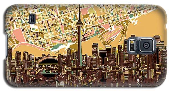 Toronto Skyline Abstract 9 Galaxy S5 Case