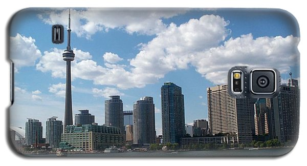 Galaxy S5 Case featuring the photograph Toronto Skyline by Barbara McDevitt