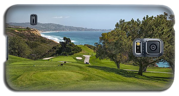 Torrey Pines Golf Course North 6th Hole Galaxy S5 Case by Adam Romanowicz