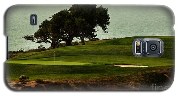 Torrey Pines Golfcourse Galaxy S5 Case by Darleen Stry