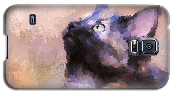 Tortoiseshell Kitten #3 Galaxy S5 Case