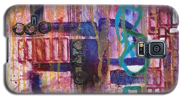 Galaxy S5 Case featuring the painting Tortured Links by Jason Williamson