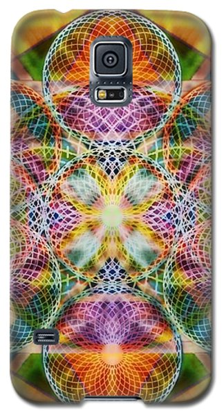 Torusphere Synthesis Bright Beginning Soulin I Galaxy S5 Case by Christopher Pringer