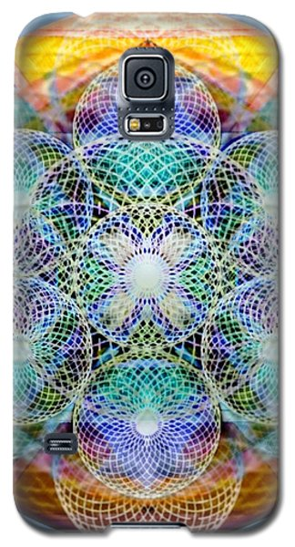 Galaxy S5 Case featuring the digital art Torusphere Synthesis Cell Firing Soulin IIi by Christopher Pringer