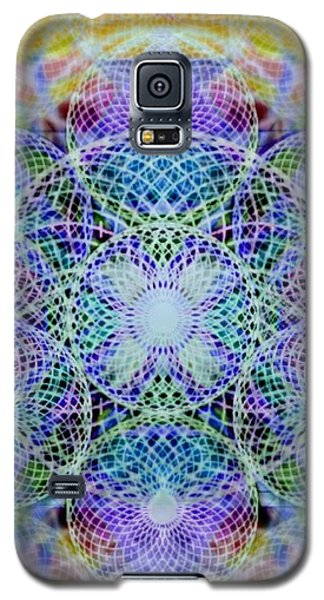Torusphere Synthesis Interdimensioning Soulin Iv Galaxy S5 Case by Christopher Pringer