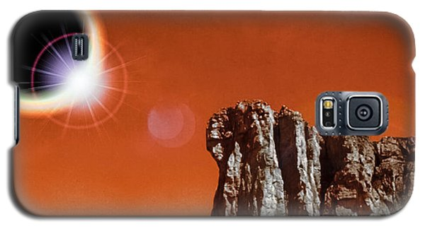 Total Eclipse On Mars Galaxy S5 Case