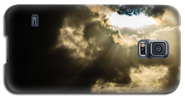 Total Solar Eclipse Breakthrough Galaxy S5 Case by Peta Thames