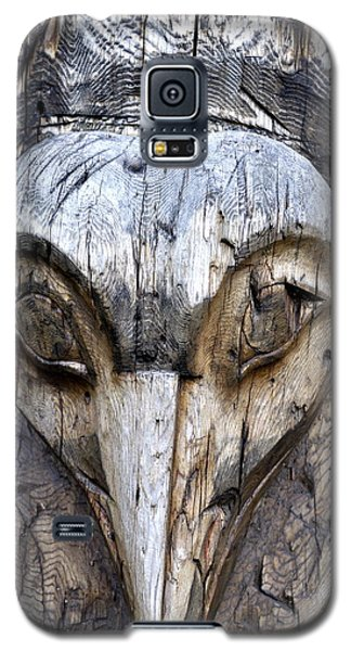 Totem Face Galaxy S5 Case by Cathy Mahnke