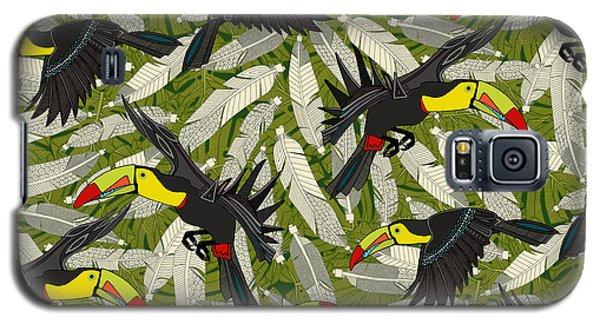 Toucan Jungle Galaxy S5 Case
