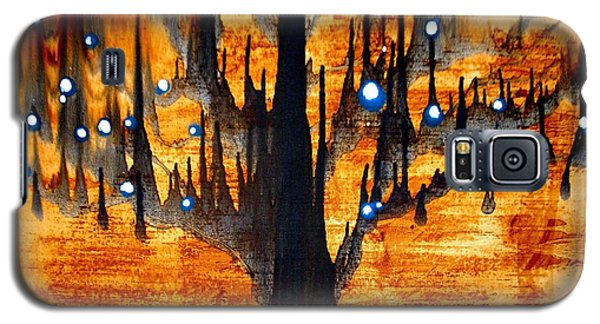 Galaxy S5 Case featuring the painting Touched by Amy Sorrell