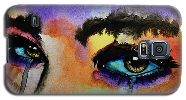 Galaxy S5 Case featuring the painting Tougher Than You Think by Michael Cross