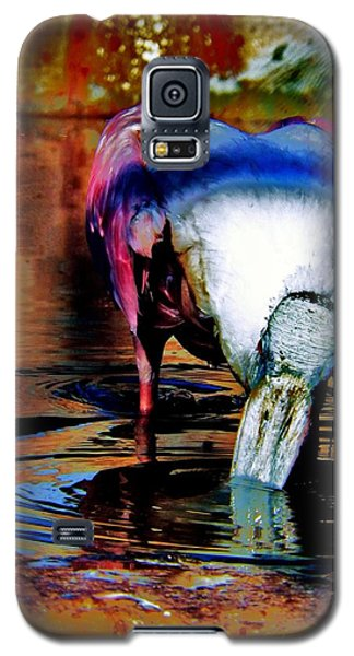 Galaxy S5 Case featuring the photograph Toupee by Faith Williams