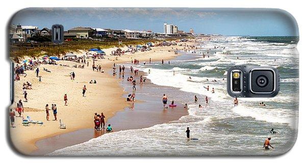 Tourist At Kure Beach Galaxy S5 Case
