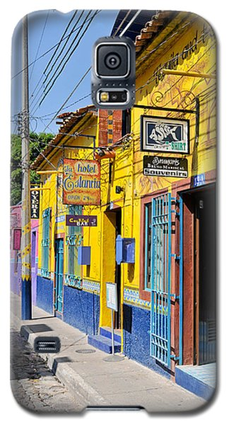 Tourist Shops - Mexico Galaxy S5 Case by David Perry Lawrence