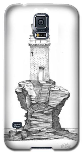 Tourlitis Lighthouse-greece Galaxy S5 Case by Patricia Hiltz