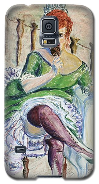 Galaxy S5 Case featuring the painting Tous Les Soirs by D Renee Wilson