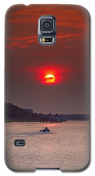 Toward An Angry Sun Galaxy S5 Case