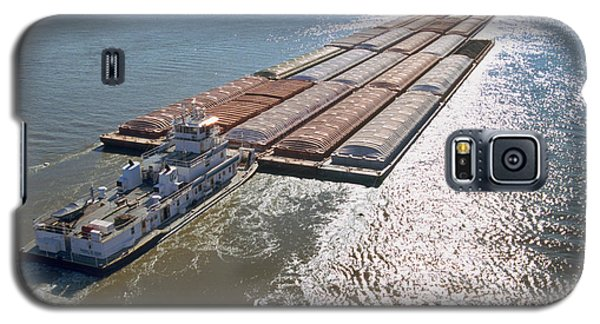 Towboats And Barges On The Mississippi Galaxy S5 Case