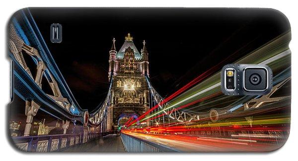 Tower Bridge At Night Galaxy S5 Case
