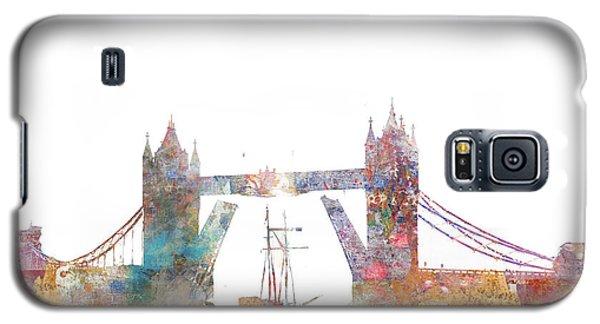 Tower Bridge Colorsplash Galaxy S5 Case by Aimee Stewart