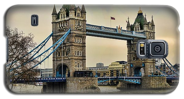 Tower Bridge On The River Thames Galaxy S5 Case by Heather Applegate