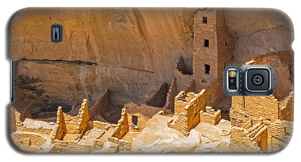 Tower House Panorama In Mesa Verde Galaxy S5 Case