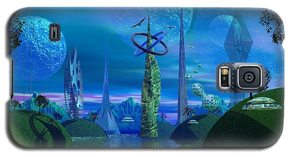 Tower Of Hurn Galaxy S5 Case by Mark Blauhoefer