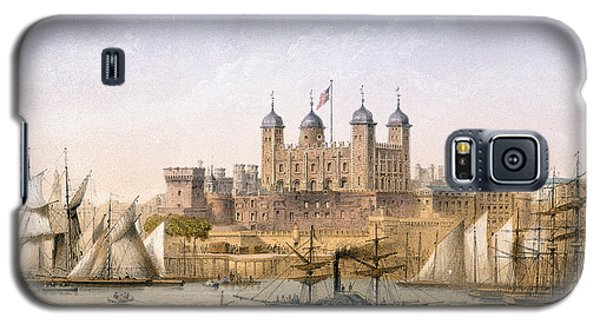 Tower Of London Galaxy S5 Case - Tower Of London, 1862 by Achille-Louis Martinet