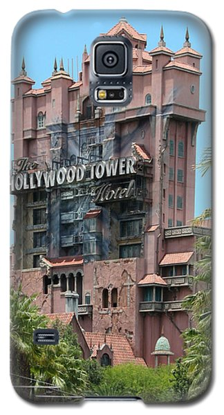 Galaxy S5 Case featuring the photograph Tower Of Terror by John Black