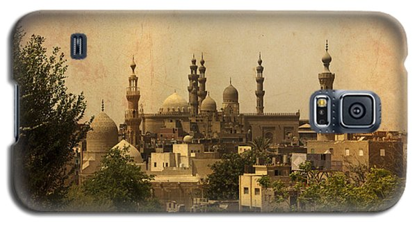 Galaxy S5 Case featuring the photograph Towers Of Muslims Mosque In Cairo by Mohamed Elkhamisy