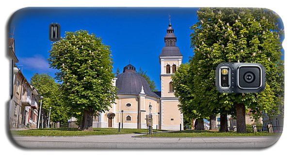 Town Of Daruvar Square And Church Galaxy S5 Case