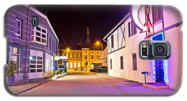 Town Of Koprivnica Center Evening View Galaxy S5 Case by Brch Photography