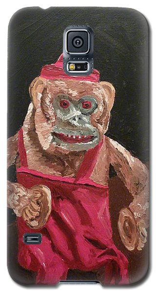 Toy Monkey With Cymbals Galaxy S5 Case