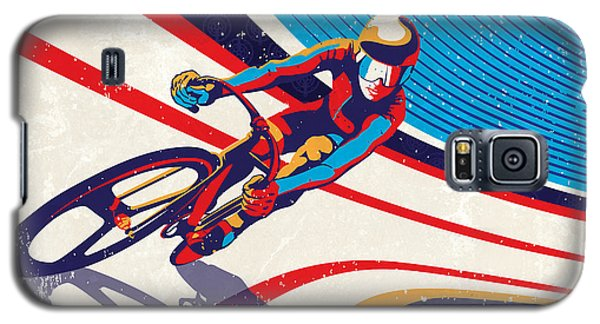 Track Cyclist Galaxy S5 Case by Sassan Filsoof
