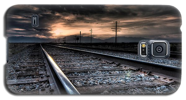 Tracking Sunrise Galaxy S5 Case