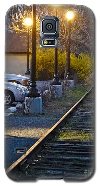 Tracks At Dusk Galaxy S5 Case