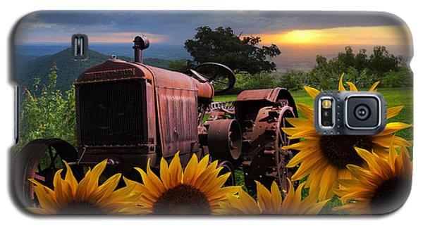 Tractor Heaven Galaxy S5 Case by Debra and Dave Vanderlaan