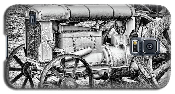 Galaxy S5 Case featuring the photograph Tractor by Ron Roberts