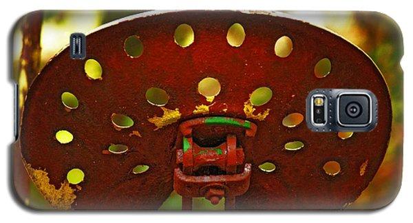 Tractor Seat Galaxy S5 Case by Rowana Ray