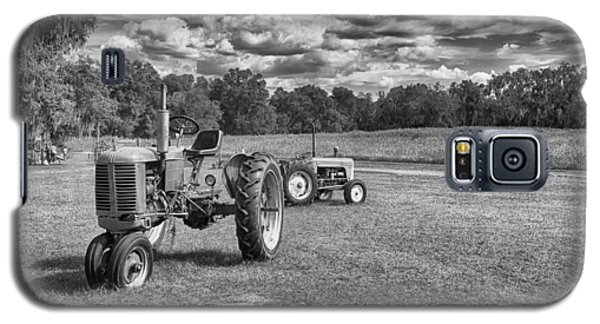 Galaxy S5 Case featuring the photograph Tractors by Howard Salmon