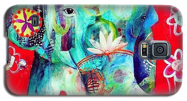 Animal Galaxy S5 Case - Bringer Of Joy. 2013 by Tracy Verdugo