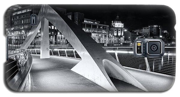 Tradeston Footbridge Galaxy S5 Case by Stephen Taylor